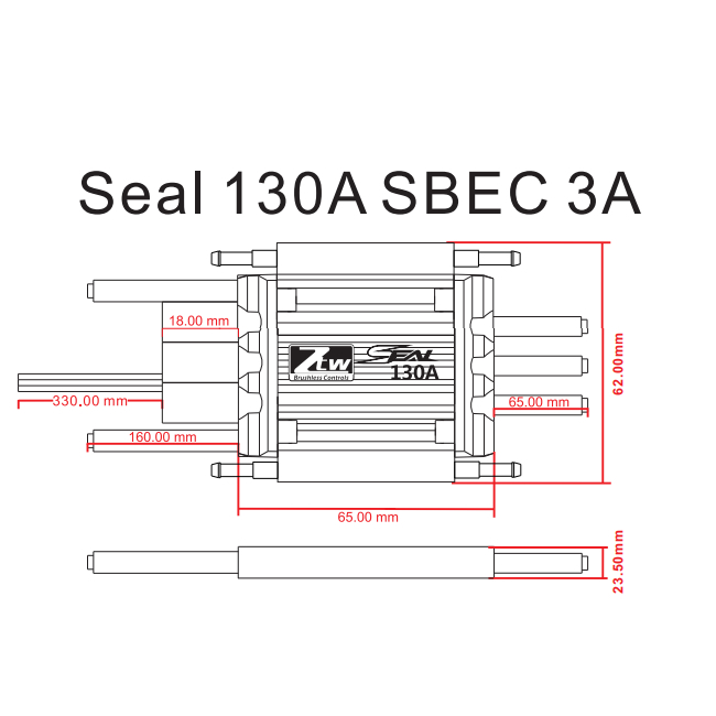 seal 130a sbec 3a rc brushless esc rc esc shenzhen ztw model science u0026technology co  ltd