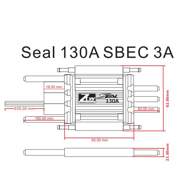 Seal 130a Sbec 3a Rc Brushless Esc Rc Esc Shenzhen Ztw Model Science U0026technology Co  Ltd